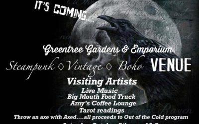 Greentree Gardens & Emporium Steampunk Vintage Boho Oct. 5 & 6