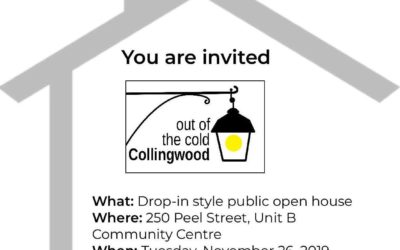 Out of the Cold Open House | November 26th