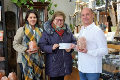 Collingwood Rock Shop Fundraiser Donates $1,375 to Out of the Cold Collingwood