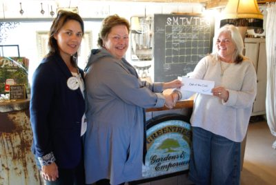 Greentree's Steampunk Venue and Axe-Throwing Event Donates $2500 to Out of the Cold Collingwood
